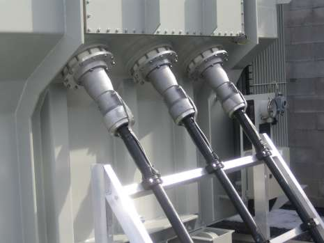 raccordement haute tension en 70 kV